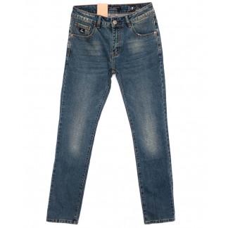 2183 Fang джинсы мужские синие осенние стрейчевые (30-38, 8 ед.) Fang: артикул 1098997