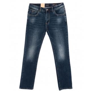 2176 Fang джинсы мужские батальные синие осенние стрейч-котон (32-40, 8 ед.) Fang: артикул 1099000