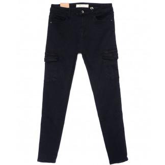 9159-68 M.Sara джинсы женские с боковыми карманами синие осенние стрейчевые (27-32, 6 ед.) M.Sara: артикул 1099020