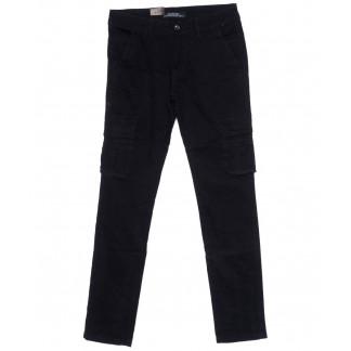 140093 LS брюки мужские темно-синие осенние стрейчевые (30-38, 8 ед.) LS: артикул 1099004