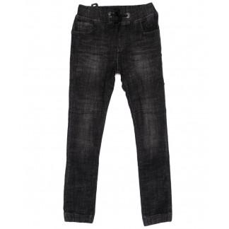 1411 Lady N джинсы женские темно-серые на резинке модные осенние стрейчевые (25-30, 6 ед.) Lady N: артикул 1099050