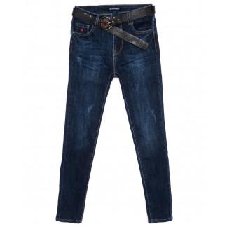 9359 LDM джинсы женские батальные с царапками осенние стрейчевые (28-33, 6 ед.) LDM: артикул 1099082