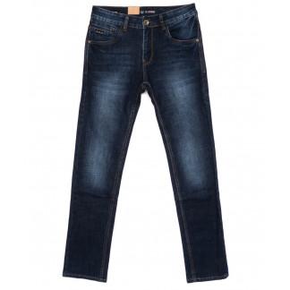 1018 LS джинсы мужские синие осенние стрейчевые (30-38, 8 ед.) LS: артикул 1099058