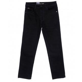 120264 LS джинсы мужские полубатальные черные осенние стрейчевые (32-38, 8 ед.) LS: артикул 1099059