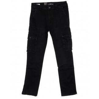 120278 LS джинсы мужские синие осенние стрейчевые (29-38, 8 ед.) LS: артикул 1099066