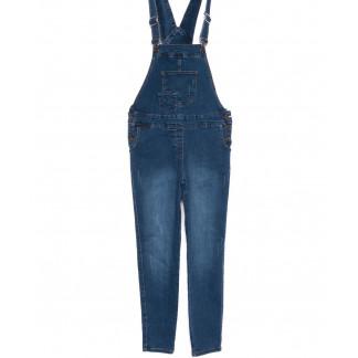 3336 YMR комбинезон джинсовый синий осенний стрейчевый (S-XL, 4 ед.) YMR: артикул 1099107