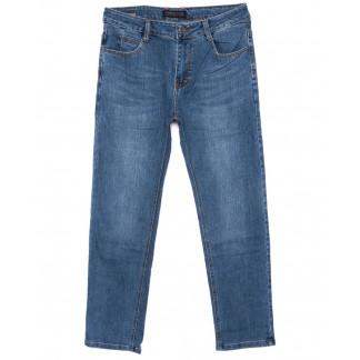 0007-А New Design джинсы мужские полубатальные синие осенние стрейчевые (32-38, 8 ед.) New Design: артикул 1099119