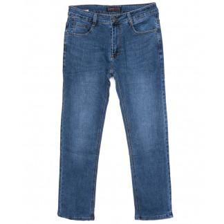 0001-А New Design джинсы мужские полубатальные синие осенние стрейчевые (32-42, 8 ед.) New Design: артикул 1099120
