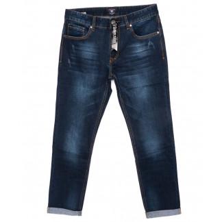 9003 Mark Walker джинсы мужские с царапками с подкатом осенние стрейчевые (31-38, 8 ед.) Mark Walker: артикул 1099124