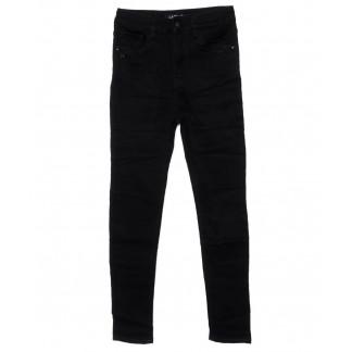 1444 Lady N джинсы женские полубатальные черные осенние стрейчевые (28-33, 6 ед.) Lady N: артикул 1099259