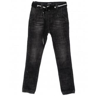 1409 Lady N джинсы женские на резинке серые осенние стрейчевые (25-30, 6 ед.) Lady N: артикул 1099261