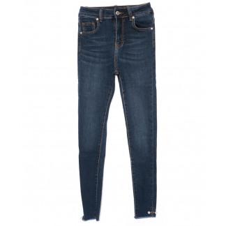 3476 New jeans американка синяя осенняя стрейчевая (25-30, 6 ед.) New Jeans: артикул 1099342