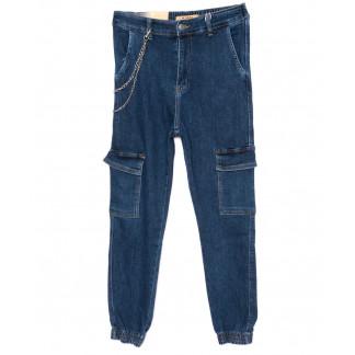 1066 M.Sara джинсы женские на резинке с карманами модные осенние стрейчевые (XS-XL, 6 ед.) M.Sara: артикул 1099430