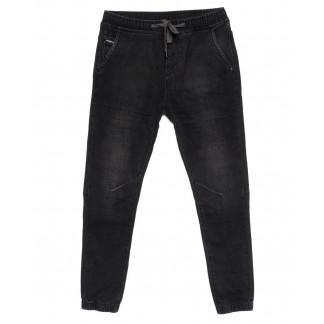 9073 Dimarkis Day джинсы мужские молодежные на резинке темно-серые осенние стрейч-котон (27-34, 8 ед) Dimarkis Day: артикул 1099470