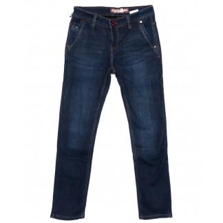 2992 Winning джинсы мужские молодежные синие на флисе зимние стрейчевые (27-34, 8 ед) Winning: артикул 1099541