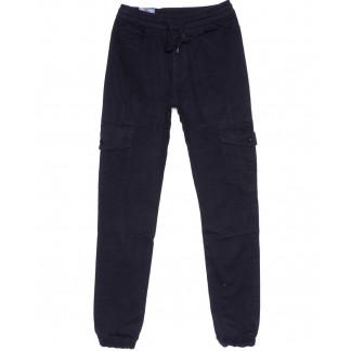 6609-2 REIGOUSE джинсы мужские на резинке синие осенние стрейчевые (29-38, 8 ед) REIGOUSE: артикул 1099601