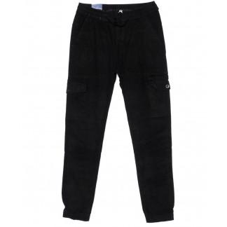 6610-1 REIGOUSE джинсы мужские на резинке черные осенние стрейчевые (31-38, 8 ед) REIGOUSE: артикул 1099604