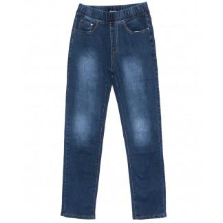 6279 DAWEIDA джинсы женские батальные на резинке синие осенние стрейчевые (30-36, 6 ед) DAWEIDA: артикул 1099614