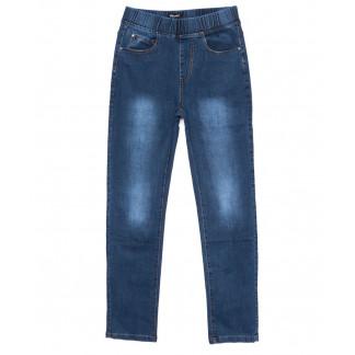 6285 DAWEIDA джинсы женские батальные на резинке синие осенние стрейчевые (31-38, 6 ед) DAWEIDA: артикул 1099615