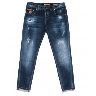 0011-22-012 Lagarto джинсы мужские полубатальные стильные осенние стрейчевые (32-38, 7 ед.) Lagarto: артикул 1099608
