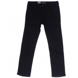 4023-D LS джинсы мужские батальные черные на флисе зимние стрейчевые (34-42, 8 ед) LS: артикул 1099719