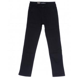 4020-D LS брюки мужские темно-синие на флисе зимние стрейч-котон (29-38, 8 ед) LS: артикул 1099720