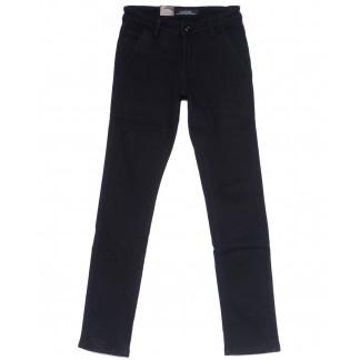 4016-X LS брюки мужские молодежные темно-синие на флисе зимние стрейч-котон (27-34, 8 ед) LS: артикул 1099721