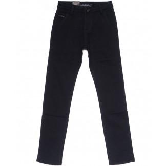 4001-T LS брюки мужские на мальчика темно-синие на флисе зимние стрейч-котон (24-30, 7 ед) LS: артикул 1099722