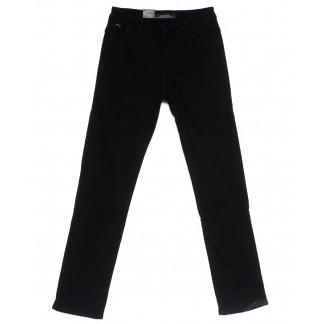 4009 LS брюки мужские темно-синие на флисе зимние стрейч-котон (29-38, 8 ед) LS: артикул 1099730