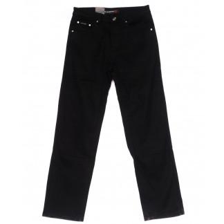 89004 LS джинсы мужские полубатальные черные на флисе зимние стрейчевые (32-38, 8 ед) LS: артикул 1099732