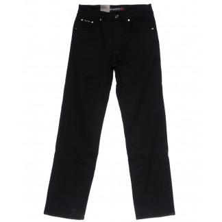 89003 LS джинсы мужские черные на флисе зимние стрейчевые (30-38, 8 ед) LS: артикул 1099733