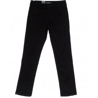 4008 LS брюки мужские темно-синие на флисе зимние стрейч-котон (29-38, 8 ед) LS: артикул 1099735