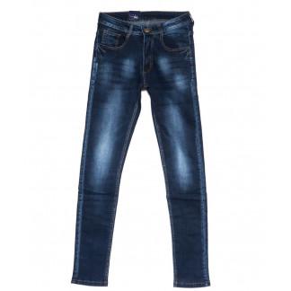 0302 Denim Fashion джинсы мужские зауженные синие осенние стрейчевые (29-36, 8 ед.) Denim Fashion: артикул 1099830