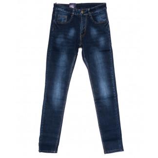 0306 Denim Fashion джинсы мужские зауженные синие осенние стрейчевые (30-36, 8 ед.) Denim Fashion: артикул 1099835