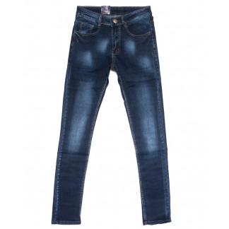 0307 Denim Fashion джинсы мужские зауженные синие осенние стрейчевые (29-36, 8 ед.) Denim Fashion: артикул 1099837