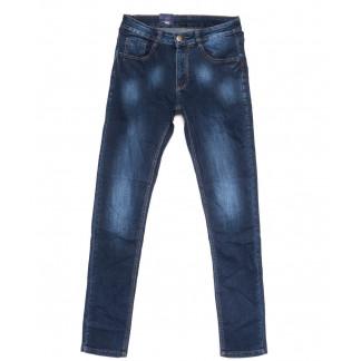 0311 Denim Fashion джинсы мужские зауженные синие осенние стрейчевые (30-36, 8 ед.) Denim Fashion: артикул 1099839