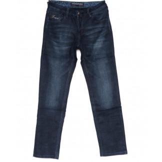 8239 Fangsida джинсы мужские полубатальные синие на байке зимние стрейч-котон (32-38, 8 ед.) Fangsida: артикул 1099966