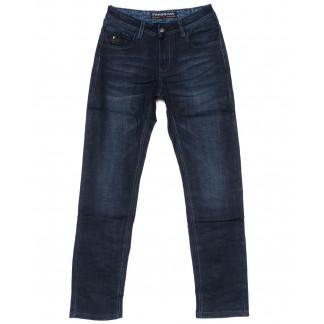 8238 Fangsida джинсы мужские синие на байке зимние стрейч-котон (30-38, 8 ед.) Fangsida: артикул 1099967