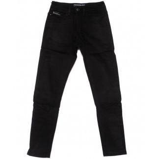 5083 Fangsida джинсы на мальчика черные на флисе зимние стрейч-котон (24-31, 8 ед.) Fangsida: артикул 1099971