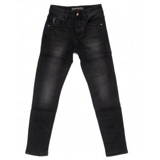 5087 Fangsida джинсы на мальчика темно-серые на флисе зимние стрейч-котон (24-31, 8 ед.) Fangsida: артикул 1099972