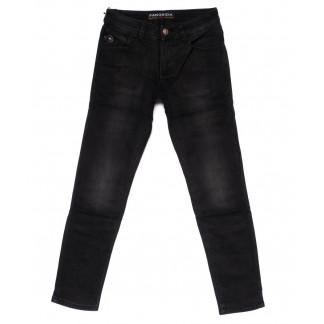 8247 Fangsida джинсы мужские молодежные темно-серые на флисе зимние стрейч-котон (27-34, 8 ед.) Fangsida: артикул 1099976