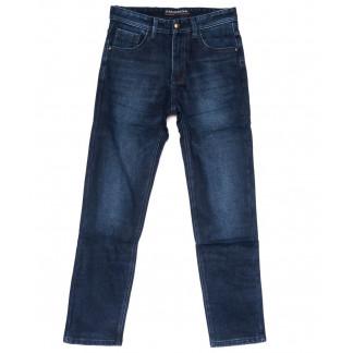 3031 Fangsida джинсы мужские батальные синие на флисе зимние стрейч-котон (34-41, 8 ед.) Fangsida: артикул 1099978