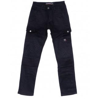 2097 Fangsida джинсы мужские молодежные с карманами модные на флисе зимние стрейч-котон (28-34, 8 ед.) Fangsida: артикул 1099981
