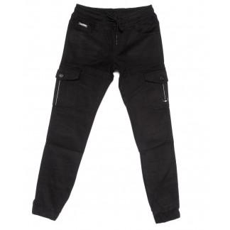 2095 Fangsida джинсы мужские молодежные на резинке с карманами модные на флисе зимние стрейч-котон (28-34, 8 ед.) Fangsida: артикул 1099982