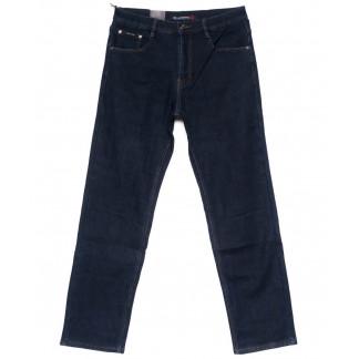 89007-B LS джинсы мужские полубатальные синие на флисе зимние стрейчевые (32-40, 8 ед.) LS: артикул 1099933