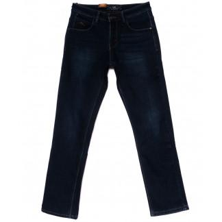 2025 LS джинсы мужские синие на флисе зимние стрейч-котон (29-38, 8 ед.) LS: артикул 1099937