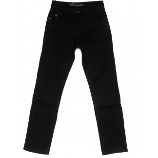 2007 LS джинсы мужские черные на флисе зимние стрейч-котон (30-38, 8 ед.) LS: артикул 1099941