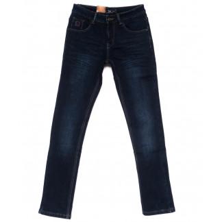 2023 LS джинсы мужские молодежные на флисе зимние стрейч-котон (28-36, 8 ед.) LS: артикул 1099943