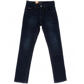 2027 LS джинсы мужские синие на флисе зимние стрейч-котон (29-38, 8 ед.) LS: артикул 1099948