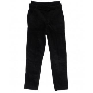 2010-1 X брюки женские вельветовые с поясом осенние стрейчевые (S-2XL, 5 ед.) X: артикул 1100137